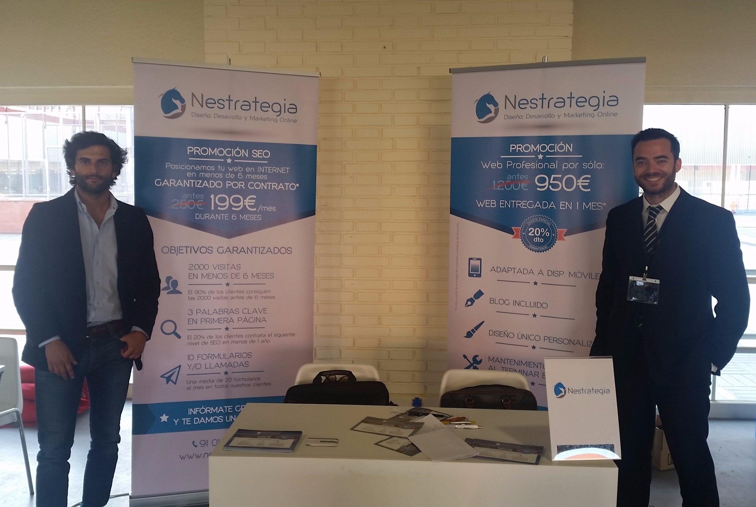 Nestrategia en el Encuentro Comercial negocios & networking y Creaventure