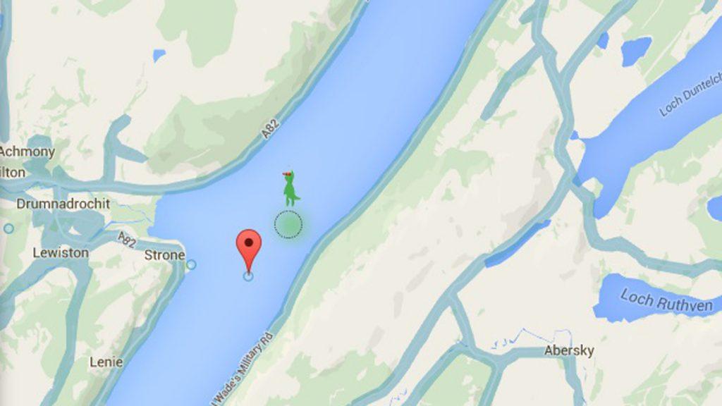 Monstruo Lago Ness Google