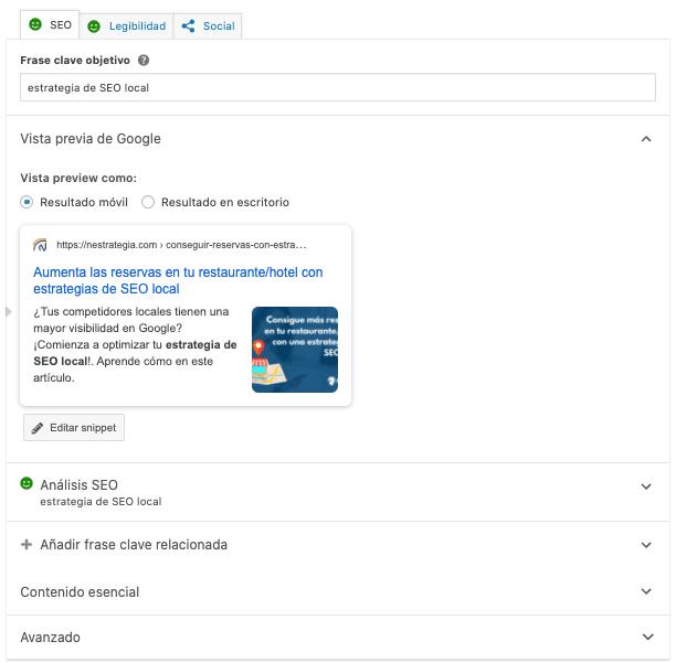 cómo usar Yoast seo para posicionar WordPress