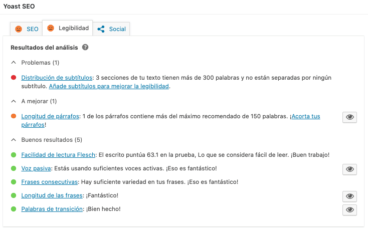 posicionar web WordPress