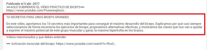 posicionarse youtube meta