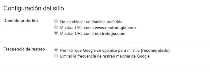 Errores de seo posicionamiento web Madrid dominio