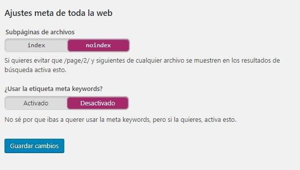 Errores seo posicionamiento seo Madrid errores de paginación
