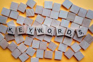 keywords palabras clave