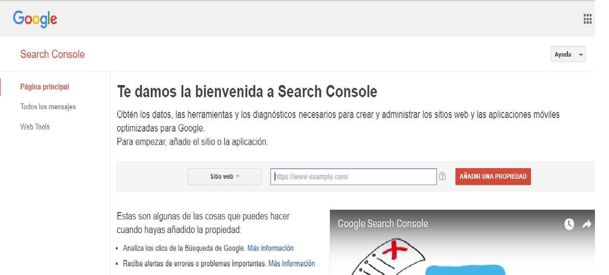 solucionar error 404 google console