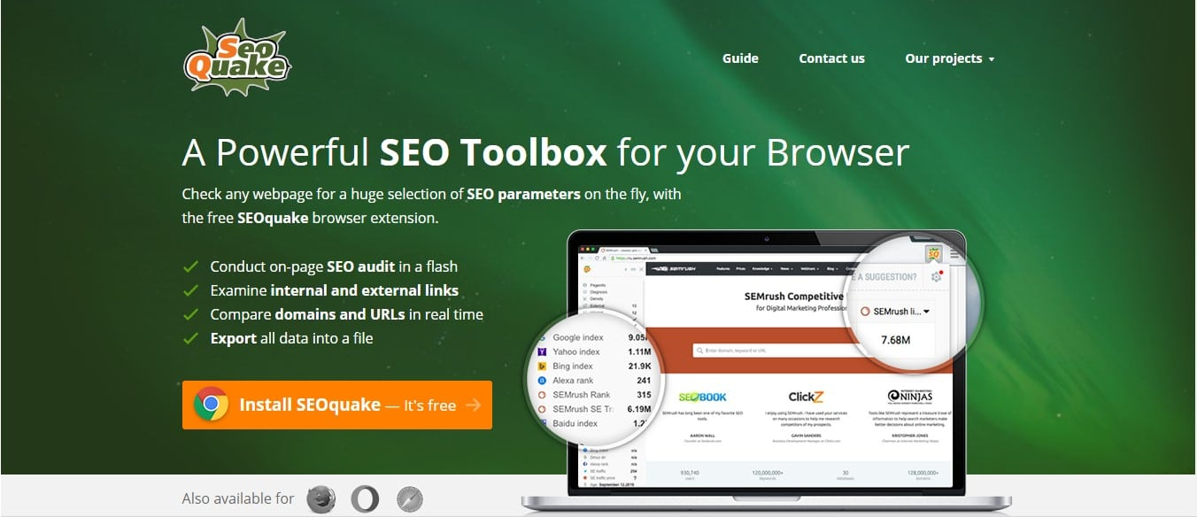 extension seo chrome