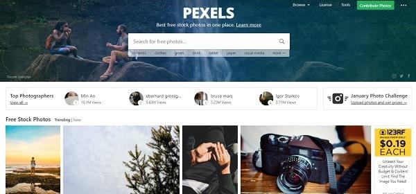 bancos de imagenes gratis de alta resolucion