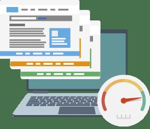 velocidad y diseño web en madrid