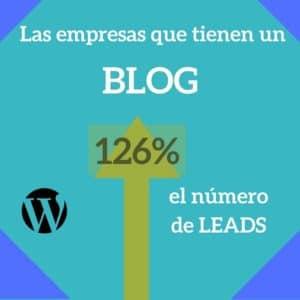 empresas que usan blog beneficios en datos - Agencia de Inbound Marketing en Madrid