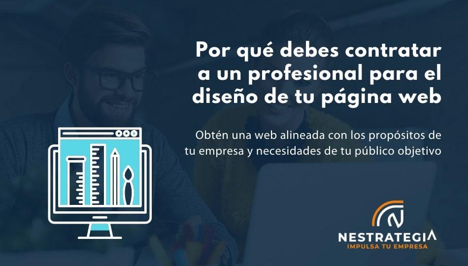 diseño páginas web Madrid profesionales
