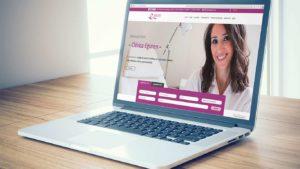 diseño web para centro médico