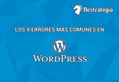 errores en Wordpress