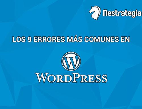 Cuáles son los 9 errores más habituales de SEO en WordPress
