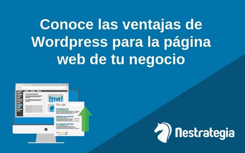 ventajas wordpress para páginas web de negocios