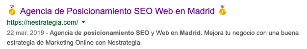 Agencia de posicionamiento online en madrid