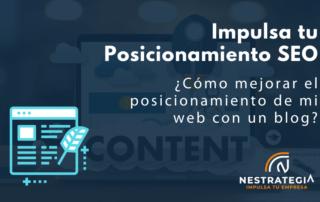 cómo mejorar el posicionamiento SEO de mi web con un blog