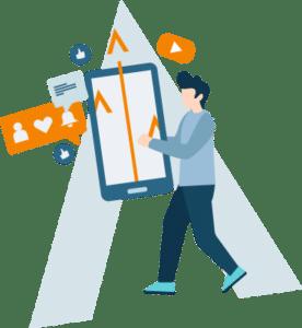 optimización de las redes sociales para posicionar tu clínica en Google