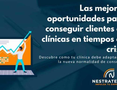 Las mejores oportunidades para conseguir clientes en clínicas en tiempos de crisis