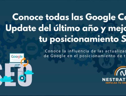 Conoce todas las Google Core Update del último año y mejora tu posicionamiento SEO