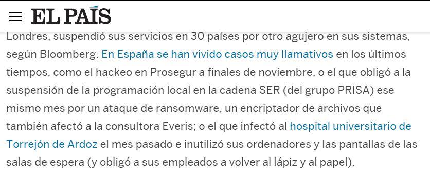 Servicio de ciberseguridad