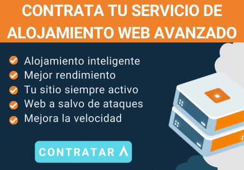 servicio alojamiento web