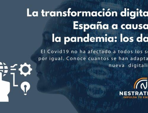 Datos de la transformación digital en España a causa de la pandemia