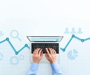 Información se maneja en el proceso de analítica web