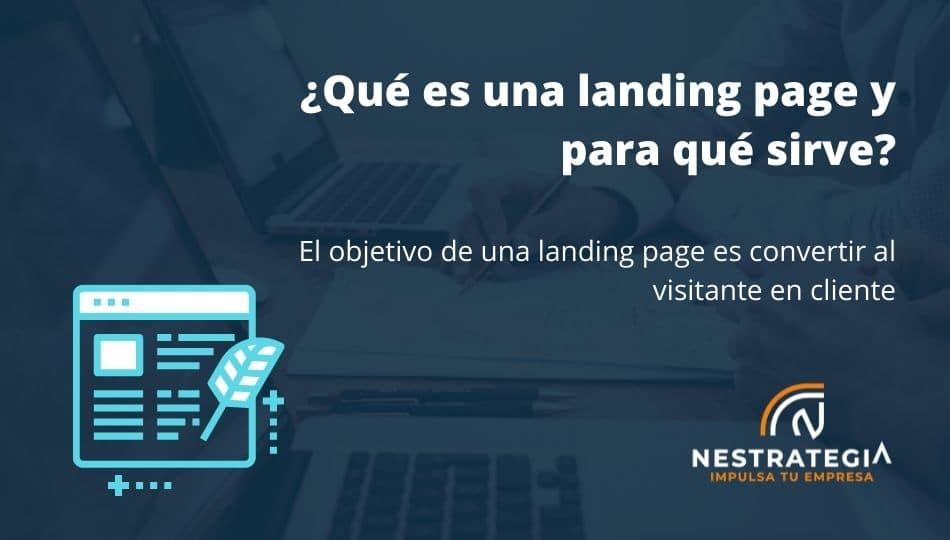 Una landing page es fundamental para un buen posicionamiento SEO