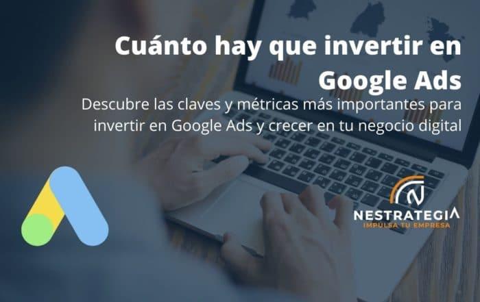 invertir en google ads